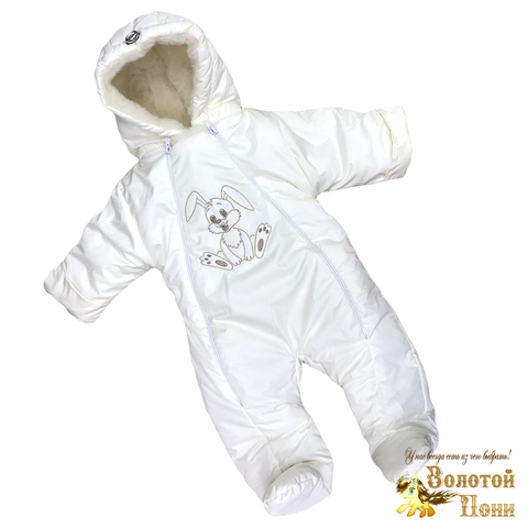 Комбинезон на меху детский (68-80) 201103-Z5086