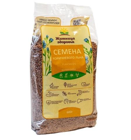 Семена коричневого льна 600 гр.