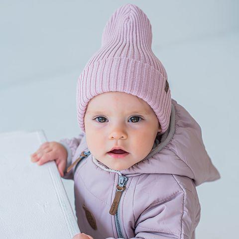 Cotton hat 0+, Marshmallow