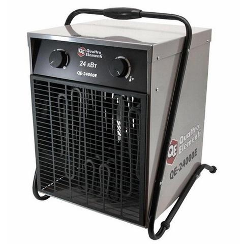 Нагреватель воздуха электрический QUATTRO ELEMENTI QE-24000 E (12 / 24кВт, 380В-3ф, 1700 м (640-452)