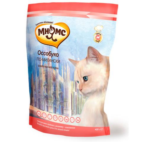 МНЯМС Сухой корм для взрослых кошек с нежным мясом ягненка и ризотто
