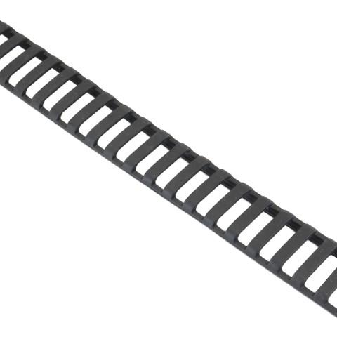 Накладка на пикатинни 31 шаг тонкая, DLG TACTICAL фото