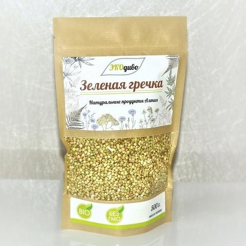 ЭкоДиво Зеленая гречка 500 гр