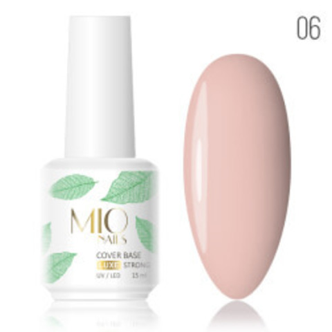 MIO Cover Base Strong LUXE # 06 - 15 мл