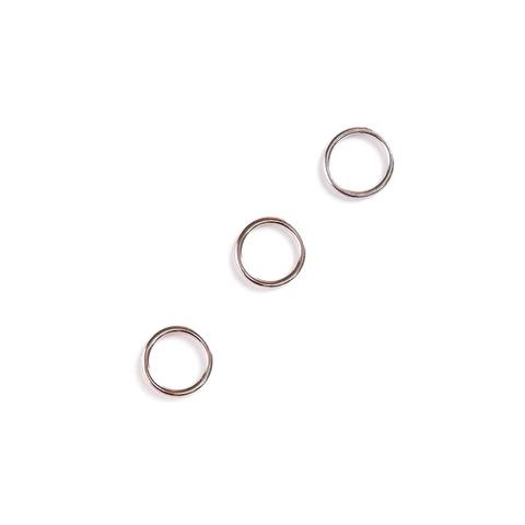 Кольцо для бретели никель 10 мм (металл)