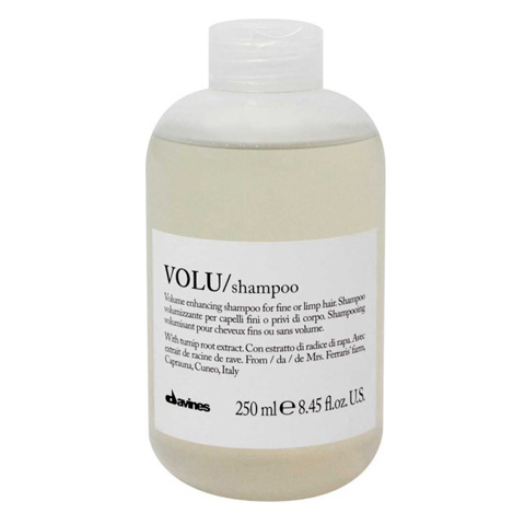 Davines Essential Haircare VOLU: Шампунь для придания объема волосам (Volu Shampoo)