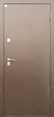Дверь входная ЯшмаТермо стальная, медь антик, 2 замка, фабрика Алмаз