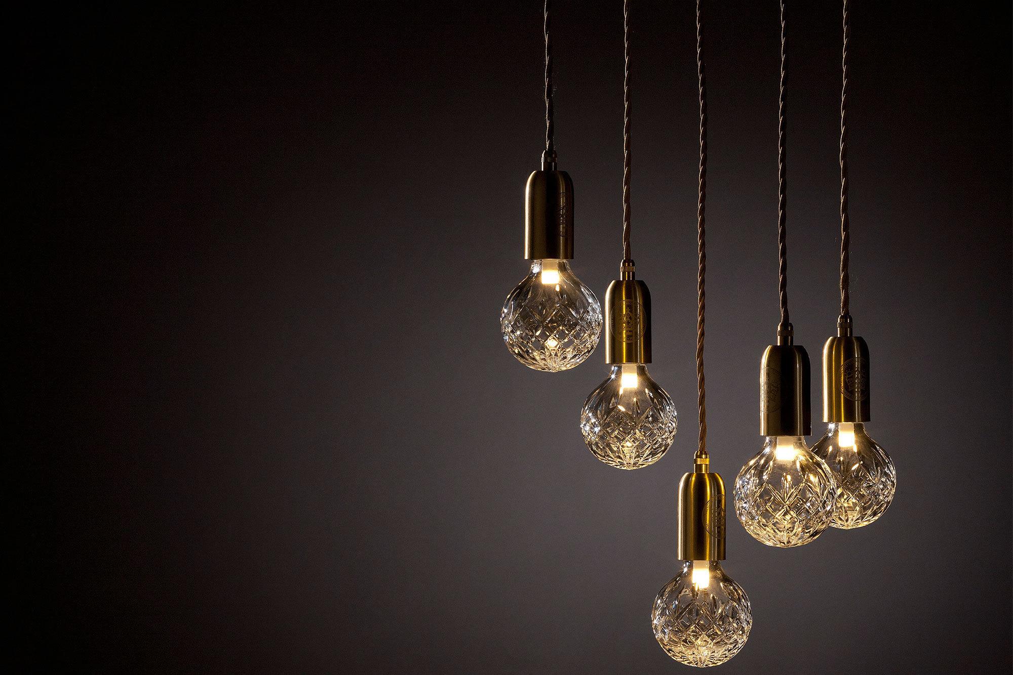 Подвесной светильник Crystal Bulb by Lee Broom (прозрачный)