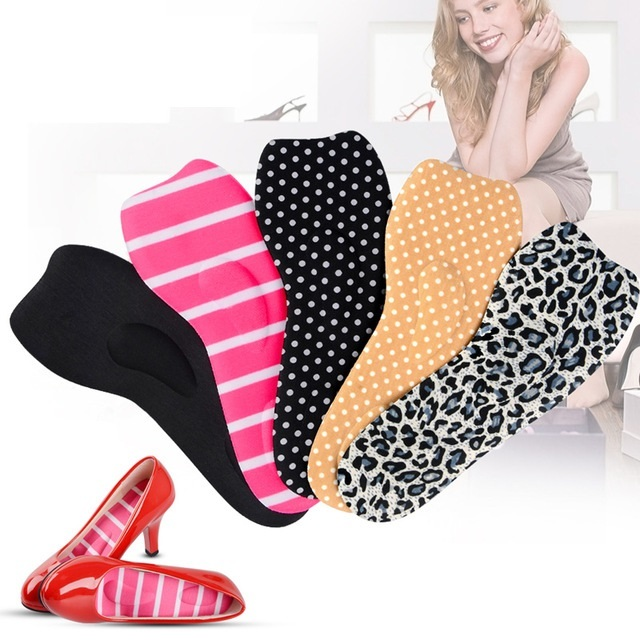 Мягкие полустельки для обуви на высоком каблуке