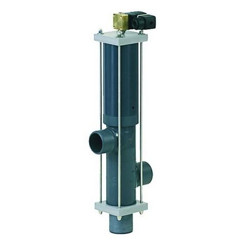Автоматический вентиль Besgo 3-х позиционный DN 100 диаметр подключения 110 мм с электромагнитным клапаном 230В