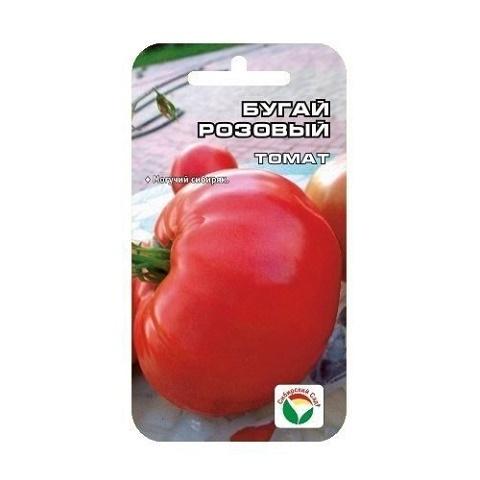 Бугай розовый 20шт томат (Сиб Сад)