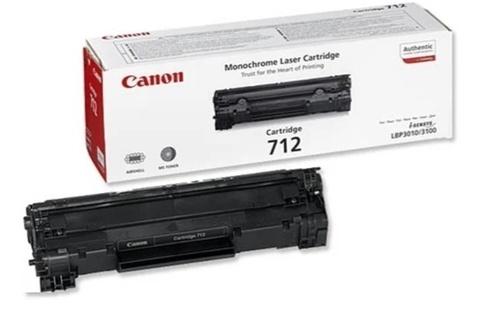 Оригинальный картридж Canon Cartridge 712 1870B002 черный