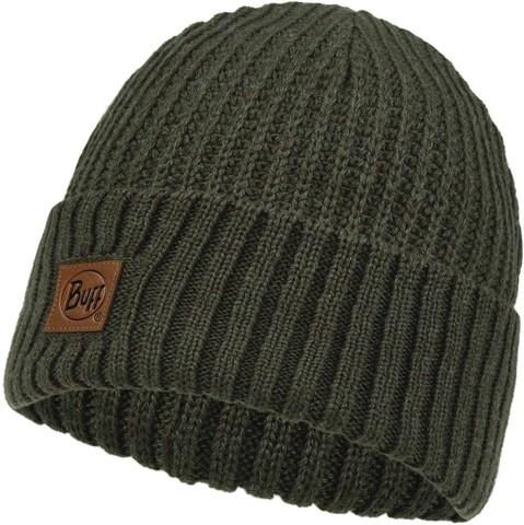 Вязаная шапка Buff Hat Knitted Rutger Bark фото 1