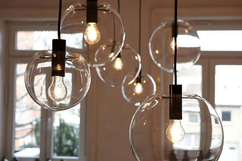 Подвесной светильник копия SELENE by ClassiCon D40 (бронзовый)