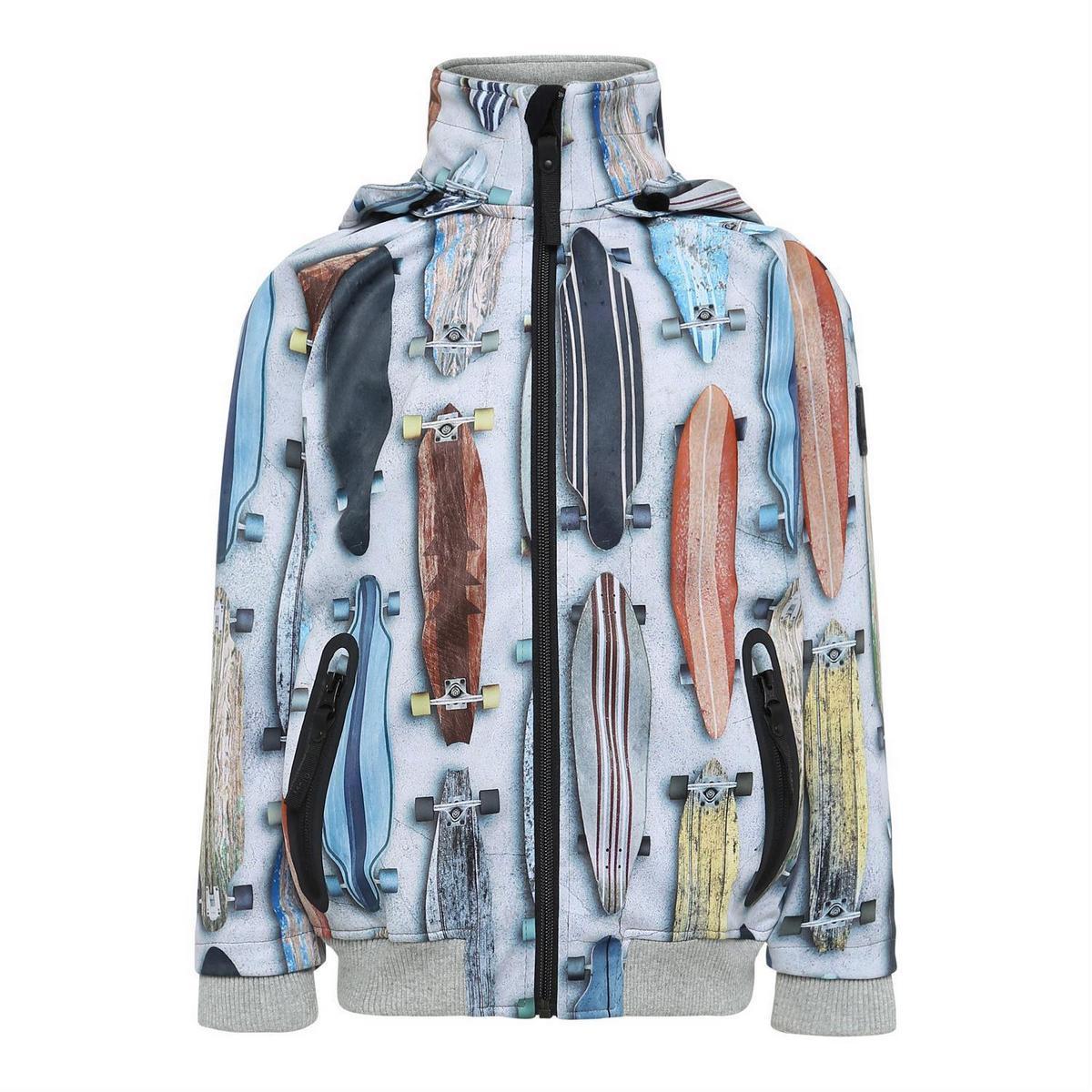 Куртка Molo Cloudy Striped Long Boards