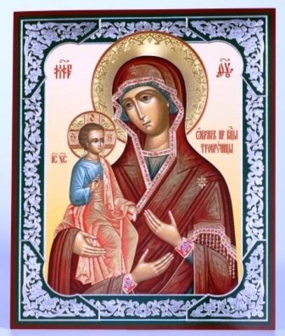 Икона Троеручица Б. М.