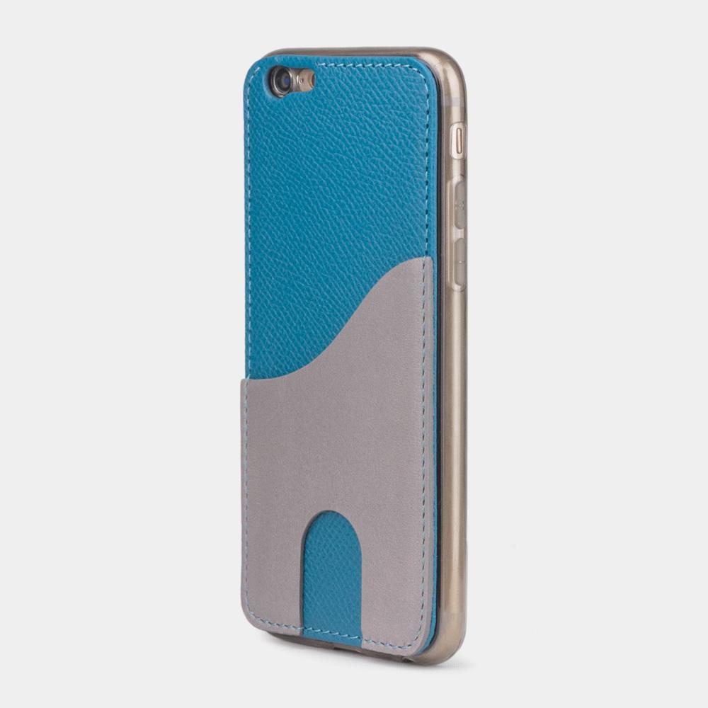 Чехол-накладка Andre для iPhone 6/6s Plus из натуральной кожи теленка, морского цвета