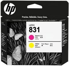 Печатающая головка HP 831 (желтый/пурпурный), CZ678A