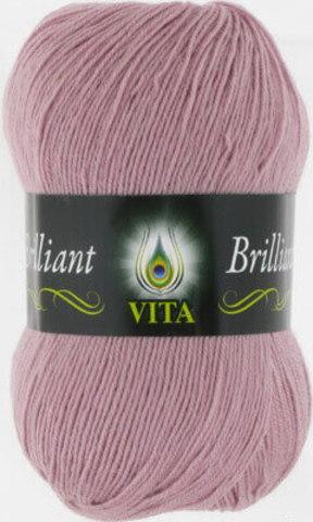 Пряжа Brilliant Vita 5118 Светлая пыльная сирень фото