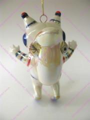 Ёлочная игрушка Бельчонок-космонавт