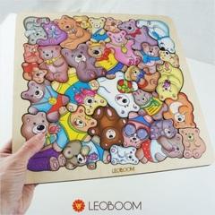 Пазл головоломка Мишки, Leoboom, арт. П808