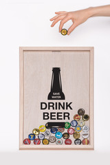Копилка для пивных крышек «Drink Beer - Save Water», фото 6