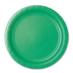 Тарелка Festive Green