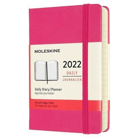 Ежедневник Moleskine (DHD1312DC2) Classic Pocket 90x140мм 400стр. фуксия