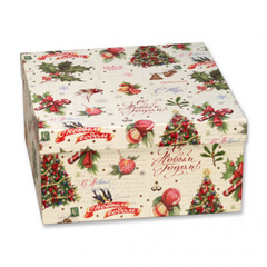 Подарочная коробка (бежевая)