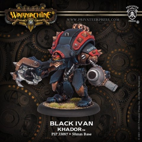 Khador Black Ivan  Heavy Warjack BLI