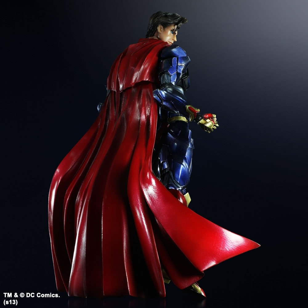ДС комикс фигурка Супермен (копия) — Superman DC Comics Play Arts Kai (copy)