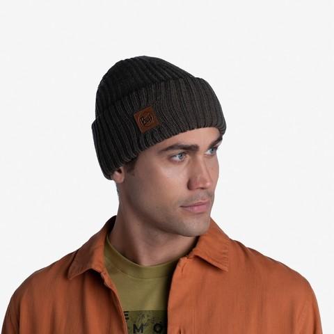 Вязаная шапка Buff Hat Knitted Rutger Bark фото 2