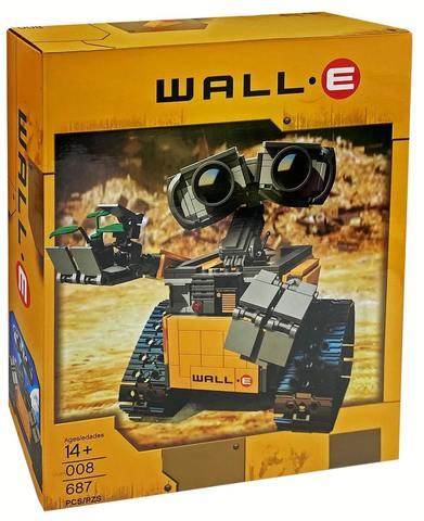 Конструктор Wall-E 008 ВАЛЛ-И, 687 дет.