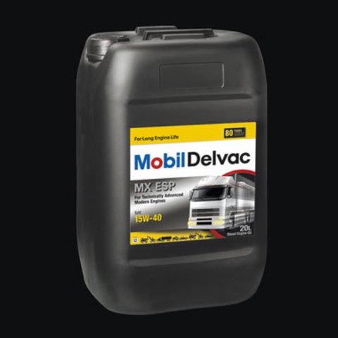 150775 MOBIL DELVAC MX ESP 15W-40 минеральное масло для коммерческого транспорта 20 Литров купить на сайте официального дилера Ht-oil.ru