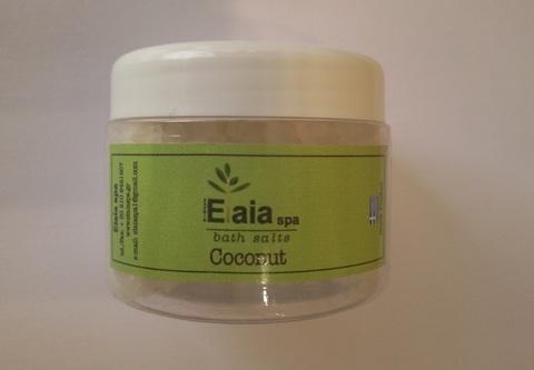 Морская соль для ванны c ароматом кокоса дерева ElaiaSpa 130 гр