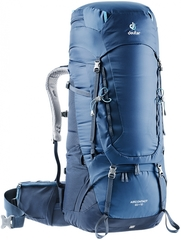 Рюкзак Deuter Aircontact 65+10 midnight-navy (2019г.)
