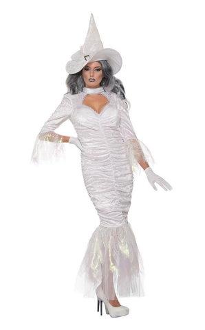 Костюм карнавальный Белая колдунья