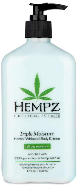 Hempz Triple Moisture Herbal Whipped Body Creme крем- молочко для тела 500мл
