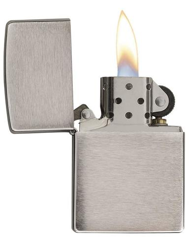 Зажигалка ZIPPO Classic Brushed Chome™ ZP-200