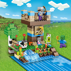 Конструктор Майнкрафт 63013 Башня у водопада 264 д