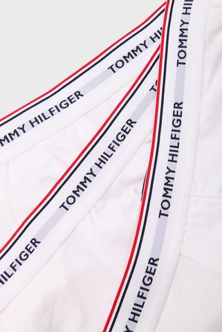 Мужские белые боксеры (3 шт) Tommy Hilfiger