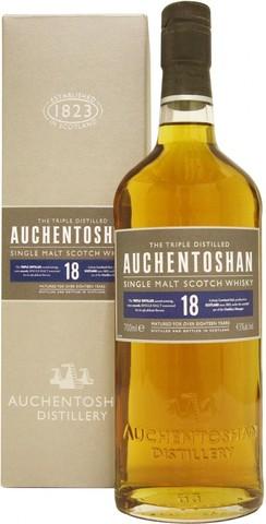 Виски Auchentoshan 18 years, gift box, 0.7 л