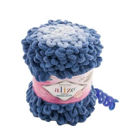Купить Пряжа Ализе Пуффи Омбре Батик - цвет 7425 | Интернет-магазин пряжи «Пряха»