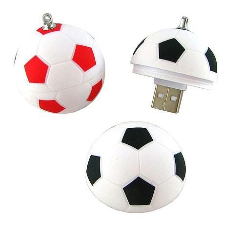 usb-флешка в виде футбольного мяча