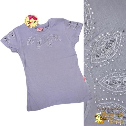 Блуза хлопок девочке (6-12) 210609-SH54078