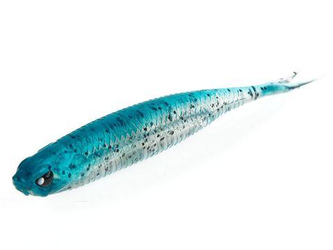 Виброхвост LJ 3D Series Makora Split Tail 4.0in (10 см), цвет 002, 6 шт.