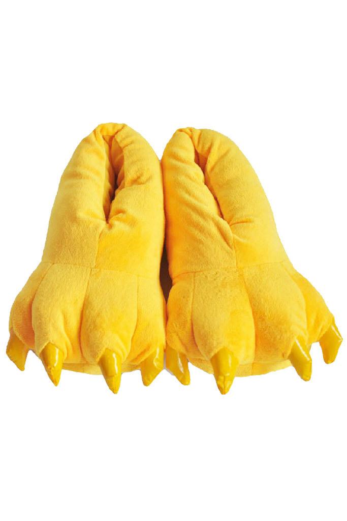 Тапки кигуруми Тапки кигуруми желтые slippers-yellow.jpg