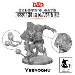 D&D Descent Into Avernus - Yeenoghu
