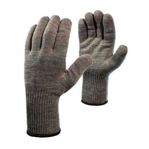 Перчатки «Ворса» акриловые одинарные с удлиненным манжетом и внутренним начесом