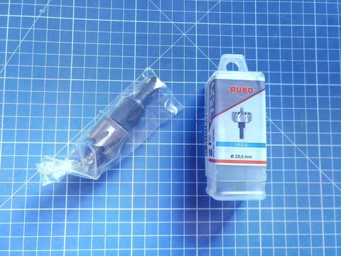 Коронка по металлу 25х10мм HSS-G S=10мм Ruko 128025 (В)